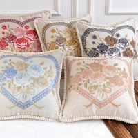 Supply High-end European pillow cushion cover large waist ...