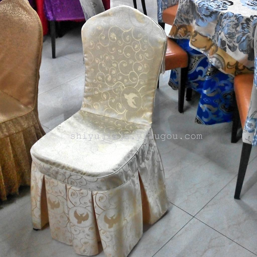 Chair Coverings Supply Zhejiang Taizhou Hotel Tablecloth Cover Hotel Banquet