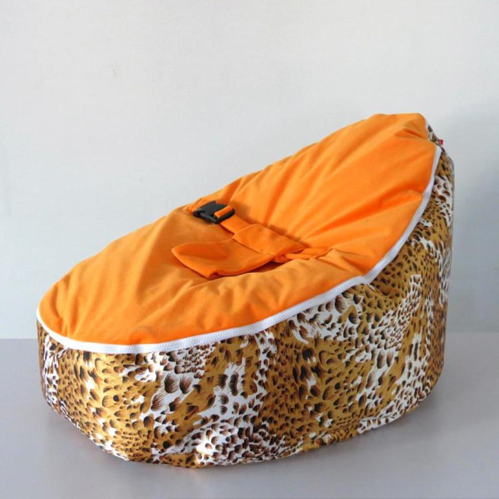 cheetah print bean bag chair ikea clear supply ywxuege baby bed sofa lazy