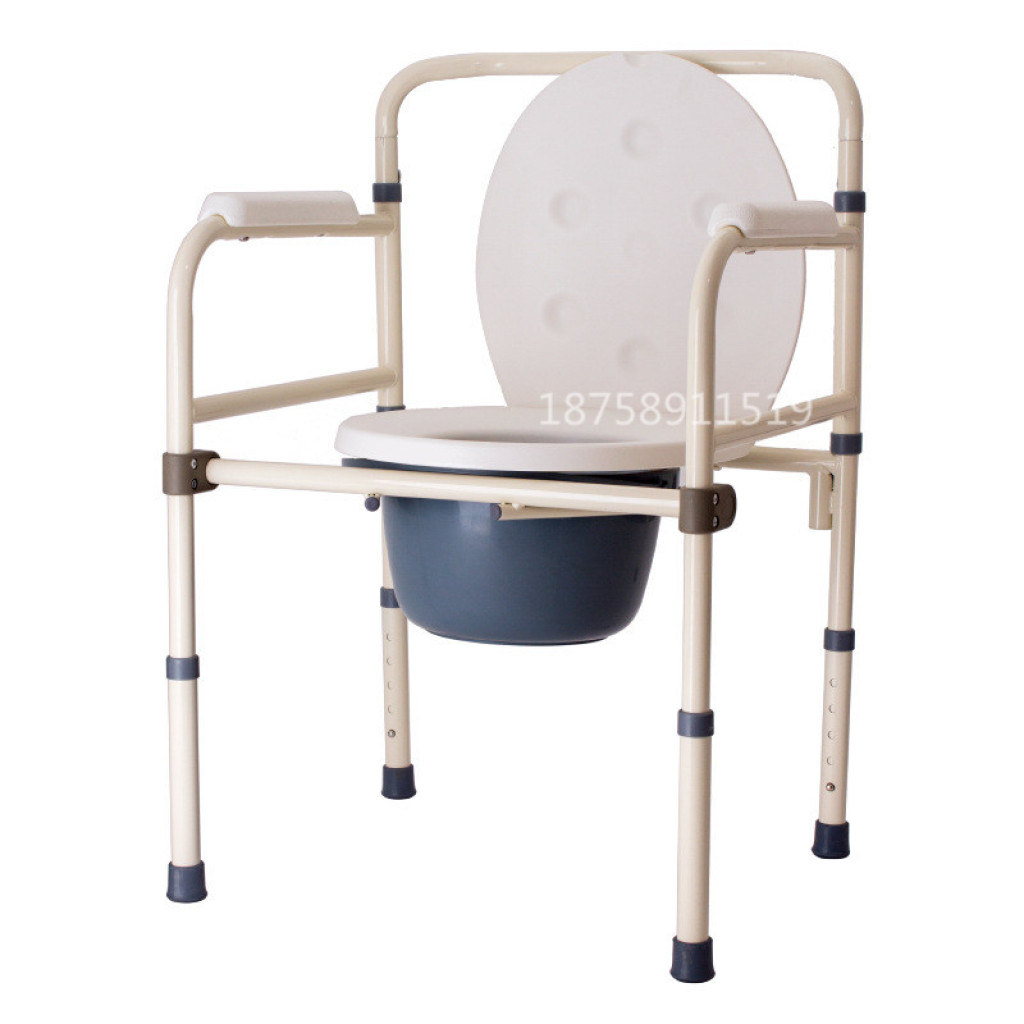 portable potty chair clean leather smell supply simple toilet seat disabled elderly pregnant women