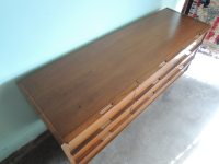 Reserve-C-MID CENTURY MODERN 9 Drawer Dresser or Changing ...