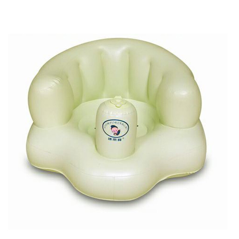inflatable chair stool dining with casters leisure bao baby small sofa bath shampoo children s