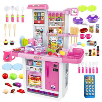 kids kitchen toys rv faucets 过家家玩具女孩仿真儿童厨房玩具套装大礼盒男孩切切乐益智玩具推荐做饭 过家家玩具女孩仿真儿童厨房玩具套装大礼盒男孩切切乐益