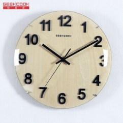 Rustic Kitchen Clock Aid 600 极客库 Geekcook 挂钟木质静音钟表挂钟客厅时尚创意设计石英时钟圆形12 挂钟木质静音钟表挂钟客厅时尚创意设计石英