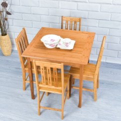 Tall Table And Chairs For Kitchen Best Cabinets The Money 竹咏汇楠竹四方桌子餐桌套装桌子桌几简约实木茶几茶桌炕休闲桌家用方桌 竹咏汇楠竹四方桌子餐桌套装桌子桌几简约实木茶几茶