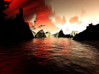 castle vampire fantasy dark deviantart 2006