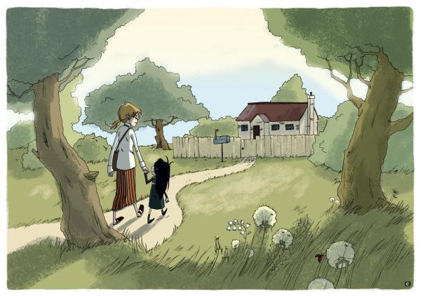 Book Illustration Cattish Deviantart