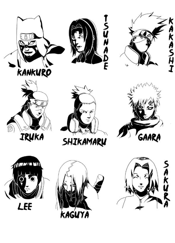 All Naruto Characters Anime
