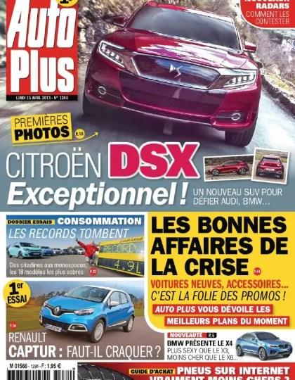 Auto Plus N°1284 du 15 au 21 Avril 2013