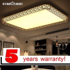 Best Led Light Bulbs For Living Room Throw Rugs Shop Rectangular Hollow Indoor Ceiling Modern Bedroom Lamp