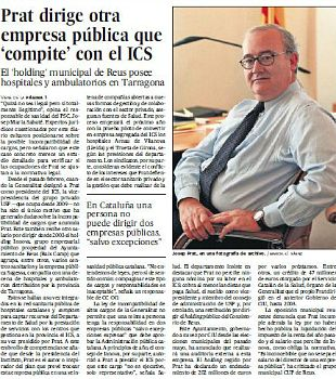 noticias Los secretos nada presentables de la sanidad catalana