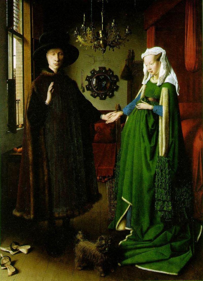 Van Eyck Arnolfini Wedding