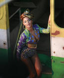 Beyonce leggy and cleavagy on Music Video Set in Rio De Janeiro - Hot Celebs Home