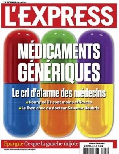 L'Express & Suppléments N°3222 du 03 au 09 Avril 2013