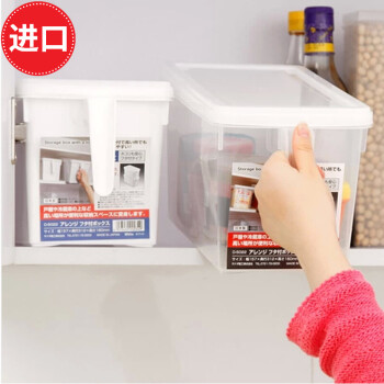 rubbermaid kitchen storage containers best touchless faucet 日本进口保鲜收纳盒冰箱带盖收纳箱透明防潮桶储物盒厨房食物保鲜盒水果 日本进口保鲜收纳盒冰箱带盖收纳箱透明防潮桶储物盒