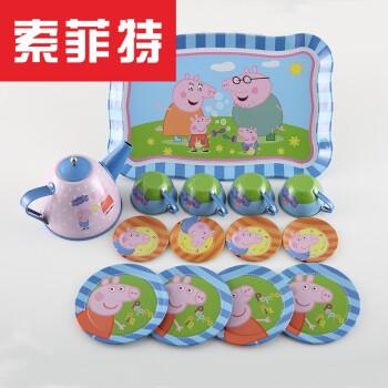 pig kitchen appliances pittsburgh 儿童过家家茶具仿真茶壶玩具小猪厨房游戏套装小猪佩佩 图片价格品牌报价 京东
