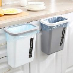 Kitchen Trash Bin Fruit Basket For 沤迈宝厨房垃圾桶挂式橱柜门挂式家用收纳桶灰色 图片价格品牌报价 京东