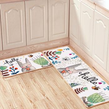 cute kitchen rugs small table for 2 九德地毯现代简约卡通可爱图案厨房地垫长条吸水吸油脚垫卫生间浴室门垫 九德地毯现代简约卡通可爱图案厨房地垫长条吸水吸油脚
