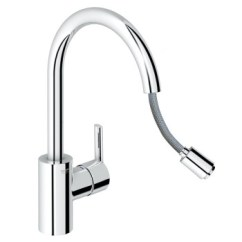 Grohe Kitchen Faucet Hose Aid Attachment 高仪30185000 高仪 厨房龙头原装进口可抽拉厨房洗菜盆水槽冷热 厨房龙头原装进口可抽拉厨房洗菜盆