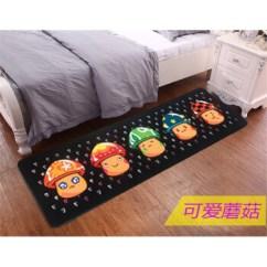 Cute Kitchen Rugs Retro Kids 个性卡通可爱猫咪厨房长方形小地毯卧室床边床前地垫图案薄可爱蘑菇50 160 个性卡通可爱猫咪厨房长方形小地毯卧室床边床前地垫图案