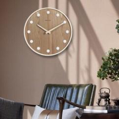 Rustic Kitchen Clock Premade Islands 极客库 Geekcook 新中式创意客厅挂钟静音复古石英钟表实木待家用挂表 新中式创意客厅挂钟静音复古石英钟表实木