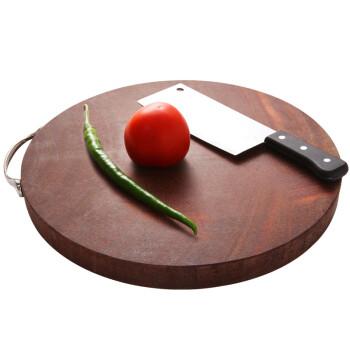 kitchen cutting board outdoor fridge 双枪 铁木砧板 实木整木菜板 面板 案板 切菜板 刀板 原木切割 圆形小号(33*3.5cm)【图片 价格 品牌 ...