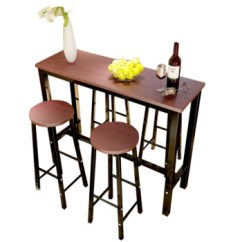 Kitchen Bistro Table Collapsible 桌小咖啡餐桌家用阳台吧台餐桌吧台高脚靠墙椅子休闲厨房简易吧台桌小餐桌 桌小咖啡餐桌家用阳台吧台餐桌吧台高脚靠墙椅子休闲厨房