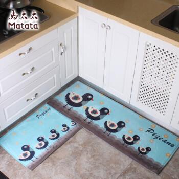 cheap kitchen floor mats sink designs 马太太厨房地垫进门门垫地毯长条防滑吸水垫浴室厕所楼梯法蓝绒卫生间垫 马太太厨房地垫进门门垫地毯长条防滑吸水垫浴室厕所