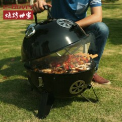 Drop In Grills For Outdoor Kitchens Kitchen Hand Mixer 烧烤世家烧烤炉户外厚实烧烤架温度计可监控木炭烧烤温度烤炉太空舱烤全鸡 烧烤世家烧烤炉户外厚实烧烤架温度计可监控木炭烧烤温度烤炉