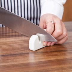 Portable Kitchen Aid K45ss 家の物语 Katei Story 日本进口便携式厨房磨刀石多功能磨刀工具白色 日本进口便携式厨房磨刀石多功能