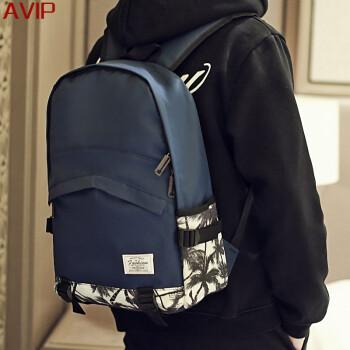 潮牌雙肩包男背包哪種牌子比較好 潮牌新款真皮雙肩包男旅行背包價格