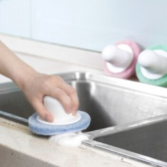 Full Circle Kitchen Brush Franke Faucets 厨房圆形清洁刷子粗纤维去污清洁刷浴缸刷地砖清洁刷子蓝色 图片价格品牌 厨房圆形清洁刷子粗纤维去污清洁刷浴缸刷地砖清洁刷子