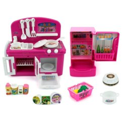 American Plastic Toys Custom Kitchen Bar Stools Counter Height 美国直邮velocity 迷你梦想厨房儿童玩具厨房及配件 图片价格品牌 图片价格品牌报价 京东