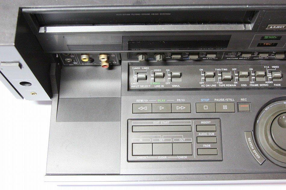 AG-3810|Panasonic 業務(民生)用 S-VHSビデオデッキ|中古品|修理販売|サンクス電機