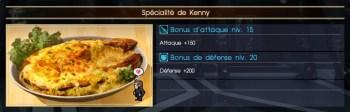 Final Fantasy XV spécialité de kenny