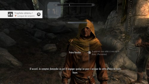 Skyrim langue de serpent