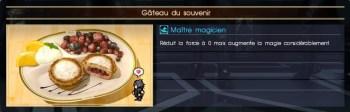 Final Fantasy XV gâteau du souvenir