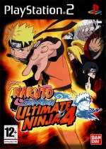 Naruto Shippuden : Ultimate Ninja 4 jaquette
