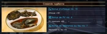 Final Fantasy XV casserole cygillienne