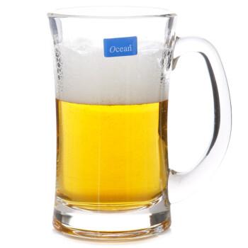 【海洋咖啡玻璃把杯】Ocean海洋330ml意式啤酒玻璃把杯P00740(六個裝)【行情 報價 價格 評測】-京東