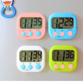 taylor kitchen timer slim storage 祥迈厨房计时器烘焙定时器学生闹钟秒钟表促销送电池a3 1 蓝色大屏幕h 118