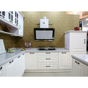 white kitchen cabinets outdoor kitchens san antonio 整体橱柜实木模压烤漆晶钢门板橱柜厨房厨柜石英石台面白色0 3米 图片 图片价格品牌报价 京东