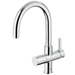 Grohe Kitchen Faucet Hose Mega System 高仪波蓝 Blue 高仪 厨房龙头高仪波蓝 冷热水厨房