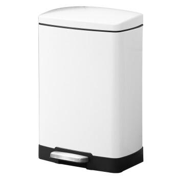 tall kitchen bin stainless steel sinks 33 x 22 snughome 方形商务时尚不锈钢垃圾桶脚踏式创意翻盖大号办公室欧式家用 方形商务时尚不锈钢垃圾桶脚踏式创意翻盖大号办公室欧式
