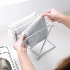 Gray Kitchen Towels Moen Brushed Nickel Faucet 季萌厨房小型置物架抹布毛巾收纳架水杯沥水架可折叠式置物架灰色 图片 季萌厨房小型置物架抹布毛巾收纳架水杯沥水架可折叠式