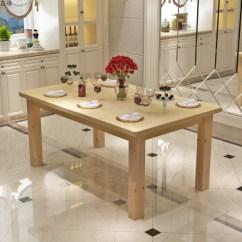 Pine Kitchen Table Luxury Outdoor Kitchens 新品家用简约小户型实木餐桌椅组合长方形4人厨房松木餐桌饭桌餐桌70 120 新品家用简约小户型实木餐桌椅组合长方形4人厨房松木餐桌