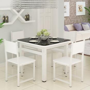 kitchen glass table sink spray head replacement 现代简约钢化玻璃桌小户型家用餐桌客厅厨房正方形4 6人四方桌子圆角70 70 6人四方