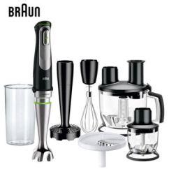 Kitchen Aid Mixer Attachments Braun Appliances 博朗mq9087x 博朗 料理机原装进口家用多功能手持式多配件打蛋切 料理机原装进口家用多功能手持式多配件打