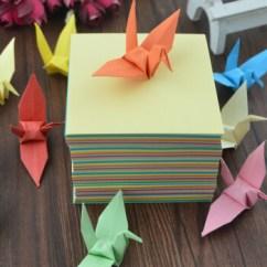 Origami Folding Kitchen Island Cart High End Faucets Reviews 隆尚礼纯色千纸鹤折纸千纸鹤成品心形折纸送男女朋友创意礼品儿童手工纸8 隆尚礼纯色千纸鹤折纸千纸鹤成品心形折纸送