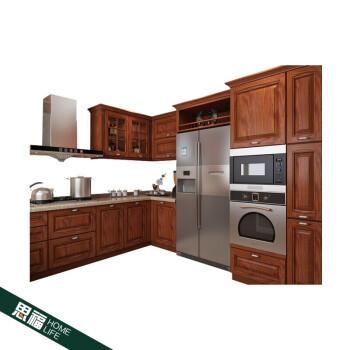 majestic kitchen cabinets outdoor design ideas 欧式红橡实橱柜定做整体开放式厨房厨柜全屋具地柜红橡门 克诺柜体 台面1 欧式红橡实橱柜定做整体开放式厨房厨柜全屋具地